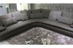 Canapé d'angle en tissu, essayez le nettoyage humide !