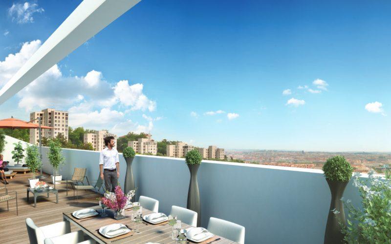 Acheter un appartement au dernier étage d'un immeuble